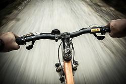 Travelers bike down to Ban Ho Valley, Sapa District, Lao Cai Province, Vietnam, Southeast Asia