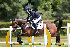 JULY 05 2013 Zara Phillips competes at the Barbury International Horse trials