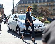 Taylor Tomasi Hill at Dries Van Noten SS2017