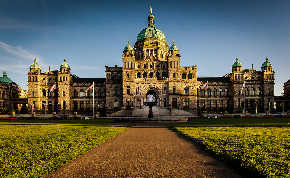The capital city of Victoria, British Columbia, Canada is where the BC Government assembles to pass law and make decisions which decide the future direction of the province.