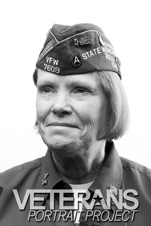 Charine Zsaludko<br /> Army<br /> E-7<br /> LPN Pediatrician Nurse<br /> 1981-1992<br /> Desert Storm, Desert Shield<br /> <br /> Veterans Portrait Project<br /> Louisville, KY<br /> VFW Convention <br /> (Photos by Stacy L. Pearsall)