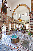 Azem Palace,Damascus, Syria, built in 1750 as a residence for the Ottoman governor,As'ad Pasha al-Azm