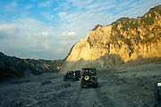 Mt Pinatubo blew up in 1991 in Zambales,Philippines. It spewed white ash on neighboring provinces Tarlac and Pampanga as well as the city of Manila.Its last eruption was 400 years ago.
