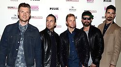 The Backstreet Boys - Nick Carter, Howie Dorough, Brian Littrell,  AJ McLean and Kevin Richardson attend photocall prior to the release of their film -Show 'Em What you're made Of on Wednesday 25 February 2015