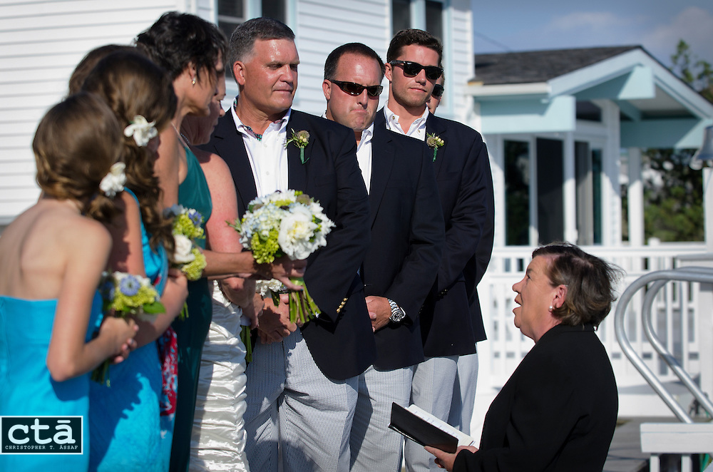 The wedding of Karen Cubbison and Craig Socie. Married June 2, 2012 in Stone Harbor, N.J. (Photo by Christopher T. Assaf/all rights reserved) #2284..©2012