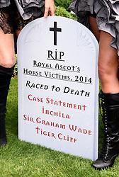 Royal Ascot Ladies Day at Ascot Racecourse, Ascot, Berkshire on Thursday 18 June 2015