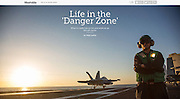 Mashable.com: &quot;What It's Really Like to Live and Work on an Aircraft Carrier &quot;. (June 23, 2016)<br /> <br /> Photos, Text and Producing by Matt Lutton