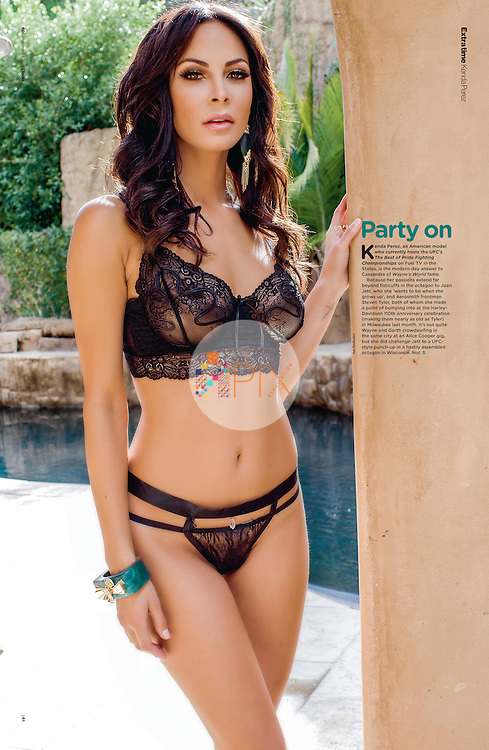 Kenda Perez in Sport Magazine UK :: 6 September 2013 p60-61
