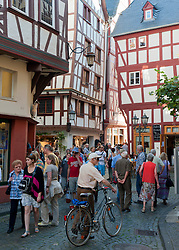 Bernkastel-Kues village on River Mosel in Mosel valley in Germany