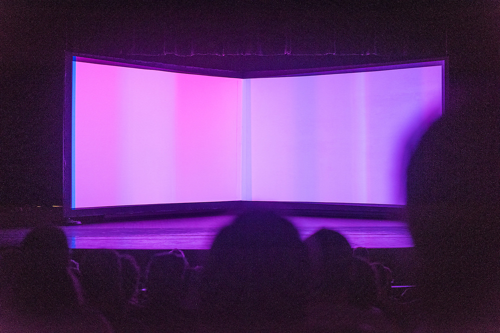 A/VISIONS 1, Salle Pierre-Mercure, Matthew Biederman & Pierce Warnecke