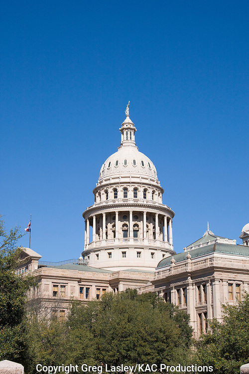 Texas State Capitol building.Austin, Travis Co., Texas.4 March 2008
