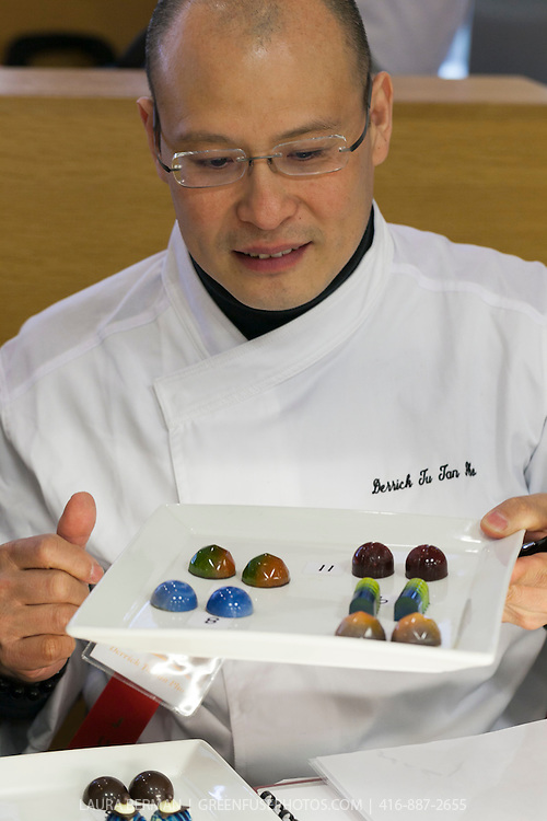 Molded Bonbons. Cacao-Barry Callebaut Canadian Intercollegiate Chocolate Competition April 21 - 22, 2012.