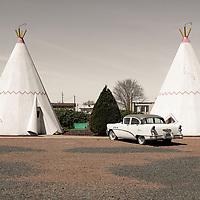 the Wigwam Motel, Holbrook, Arizona, USA