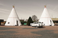 the Wigwam Motel, Holbrook, Arizona, USA