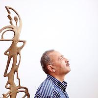 Baku, Azerbaijan, 26 July 2012<br /> Artist Natig Aliyev.<br /> Photo: Ezequiel Scagnetti