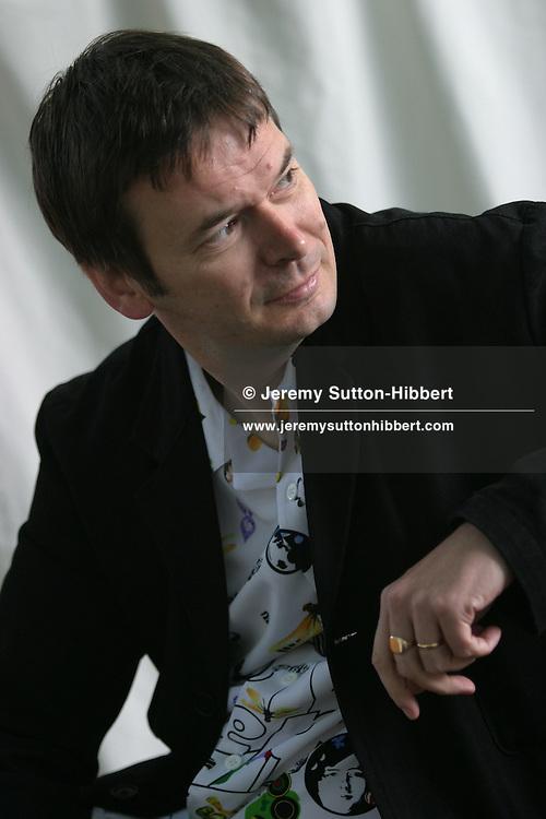 Ian Rankin, Scottish crime novelist. Creator of the Inspector Rebus novels..Photographed at the Edinburgh International Book Festival.