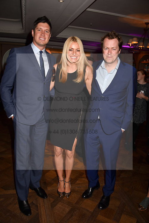 Vernon Kay, Tess Daly and Tom Parker Bowles at the 2017 Fortnum &amp; Mason Food &amp; Drink Awards held at Fortnum &amp; Mason, Piccadilly London England. 11 May 2017.<br /> Photo by Dominic O'Neill/SilverHub 0203 174 1069 sales@silverhubmedia.com