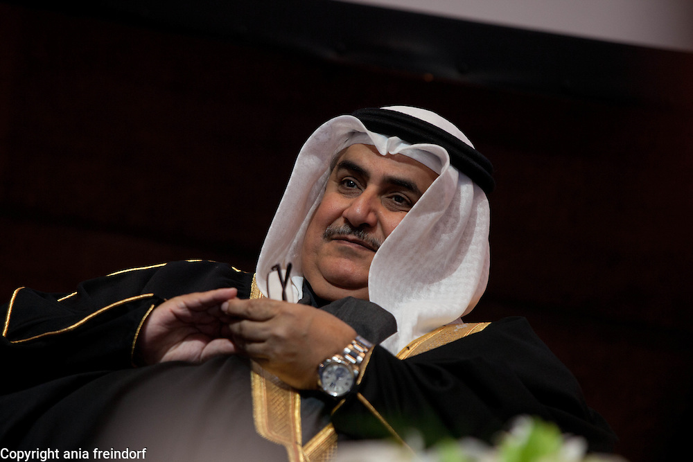 UNESCO - King Hamad Bin Isa Al-Khalifa Prize, for the use of Information and Communication Technologies in Education, Paris, France. H.E.Shaikh Khalid Bin Ahmed Bin Mohamed Al Khalifa, Minister of Freign Affairs, the Kingdom of Bahrain.