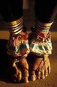 Southern Dancers Feet at Nawam Perhaera, Colombo. 2002