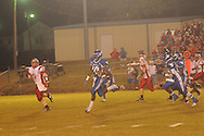 Water Valley's L.J. Hawkins (10) vs. South Pontotoc in Water Valley, Miss. on Friday, October 5, 2012. Water Valley won 47-20.