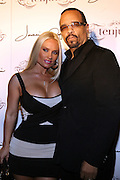 l to r: Coco and Ice T at The Jermaine Dupri Birthday Celebrration held at Tenjune in New York City on September 23, 2008