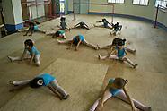 Pre-ballet in Cartagena