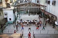 Boxing academy in Old Havana, Cuba.