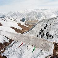 Above Labrang Gompa, Tibet