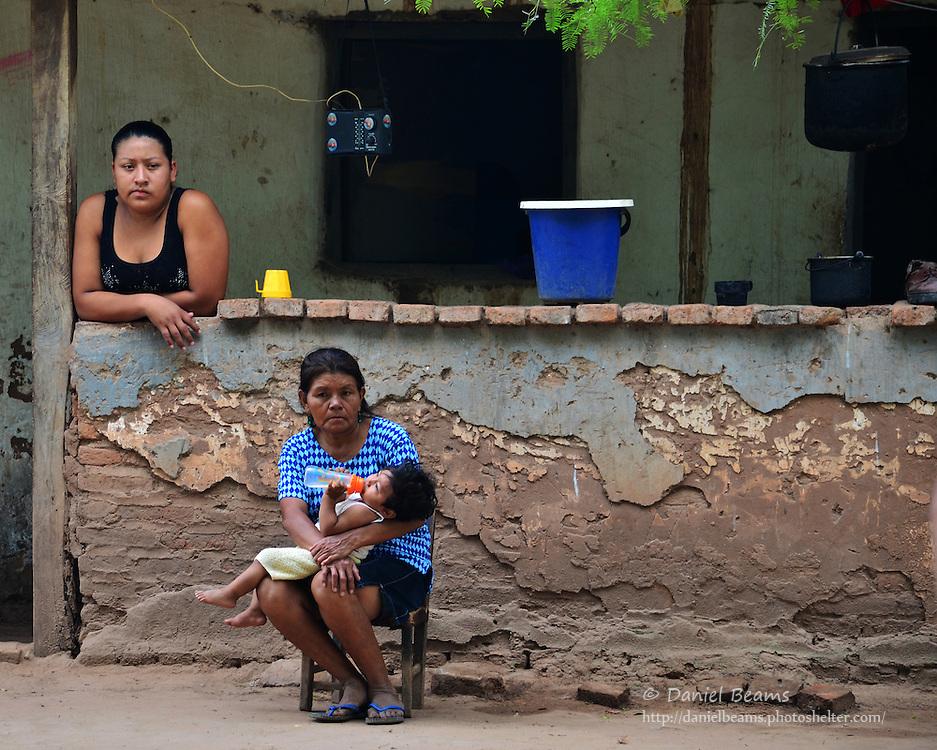 Guarani women in Yapiroa, Izozog, Santa Cruz, Bolivia