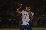 Oxford High's Parker Adamson (3) vs. Clarksdale High in Clarksdale, Miss. on Friday, November 2, 2012. Oxford won.