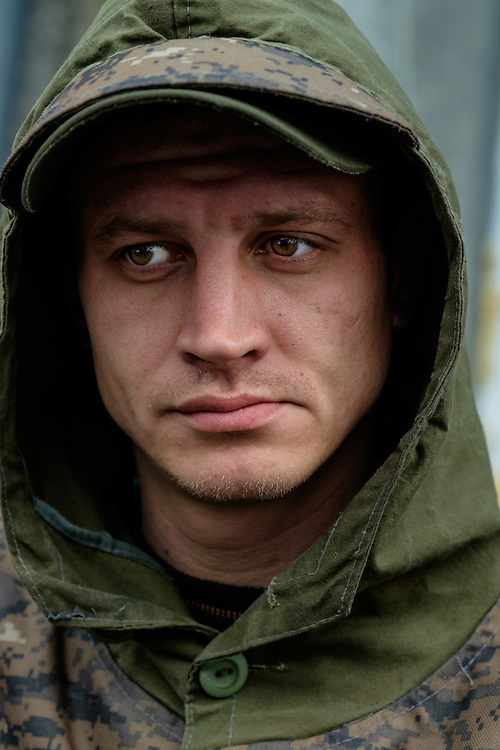 Just anotther young soldier of the Ukrainian army.
