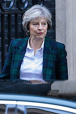 2017-01-17 PrimeMinister Theresa May leaves Downing Street ahead of Brexit Speech