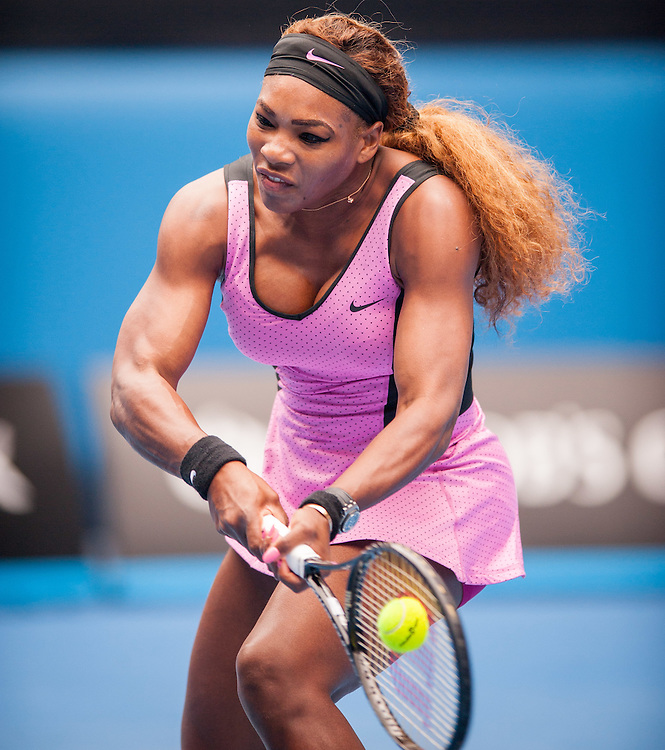 Serena Williams (USA) fell to A. Ivanovic (SRB) in the fourth round of the Australian Open Women's Singles. Williams, the number one tournament seed and number one women's player in the world struggled early on with her game. Ivanovic won 6-4, 3-6, 3-6 at Melbourne's Rod Laver Arena.
