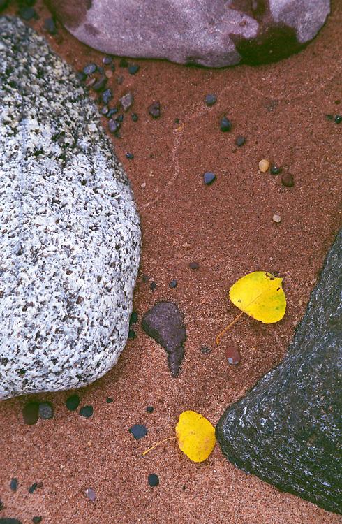 Autumn Beach, Madeline Island, Lake Superior