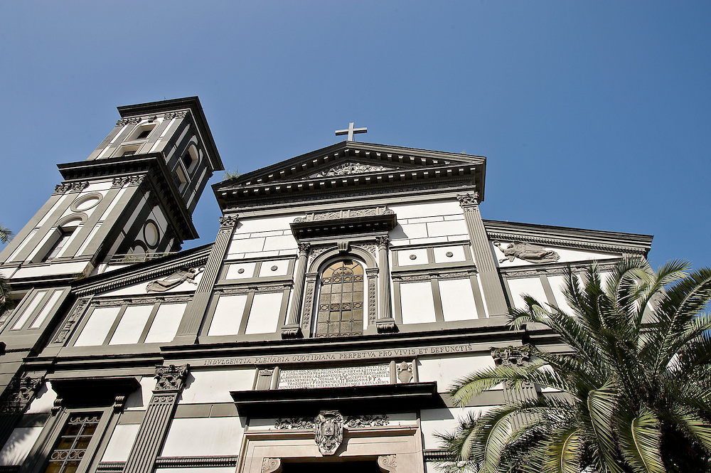 Church in the Mergellina area of Naples.
