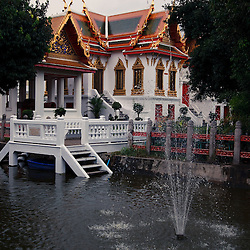 The Marble Temple, Bangkok, Thailand