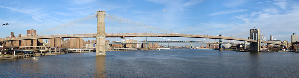 Panorama of East River
