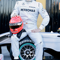 100201 F1 testing in Valencia
