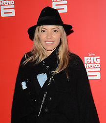 Elen Rivas attends Big Hero 6 3D Gala Film Screening at The Odeon, Leicester Square, London on Sunday 18 January 2015