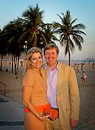 PRINS WILLEM ALEXANDER AND PRINCESS MAXIMA IN RIO DE JANEIRO