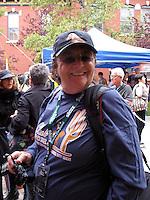 Lisa Law, photographer, at the 2009 Telluride Film Festival in Telluride, Colorado