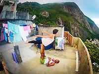 Ursula Jahara & Agustin Aguerreberry at Vidigal, Rio de Janeiro