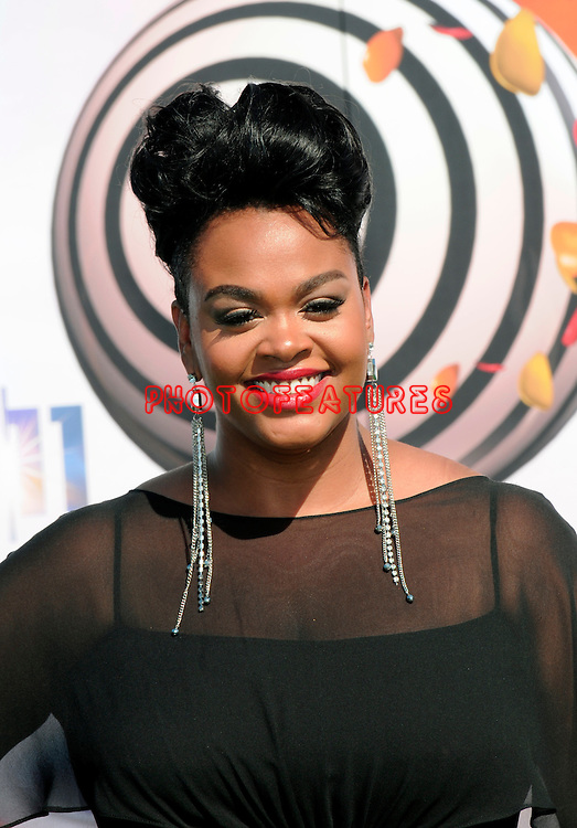 Jill Scott arrives at the 2011 BET Awards at the Shrine Auditorium on June 26th, 2011 in Los Angeles, California