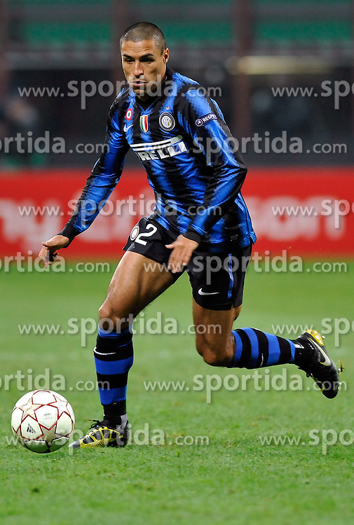 24.11.2010, Giuseppe Meazza Stadion, Mailand, ITA, UEFA CL, Inter Mailand vs Twente Enschede, im Bild Ivan Cordoba (Inter).Inter Twente 1-0 - UEFA Champions League 2010-2011.Stadio Giuseppe Meazza San Siro, Milano, 24/11/2010., EXPA/ InsideFoto/ Perottino+++++ ATTENTION - FOR USE IN AUSTRIA/AUT AND SLOVENIA/SLO ONLY +++++