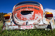 SD00045-00...SOUTH DAKOTA - Car in the town of Hill City.