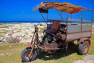 Scooter in Caletones, Holguin, Cuba.