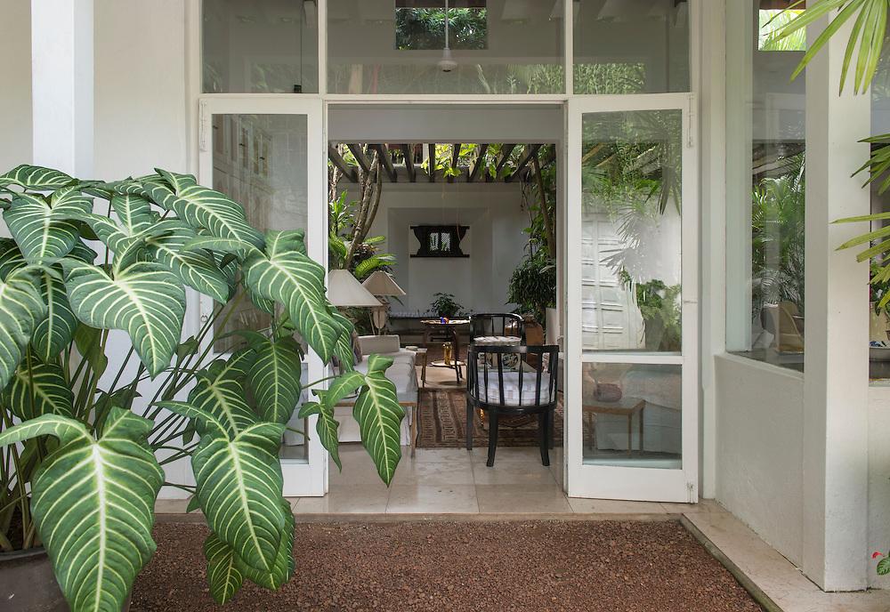 The Ratnasivaratnam House.<br /> Bhaudaloka Mawatha, Colombo.<br /> 1979<br /> Geoffrey Bawa