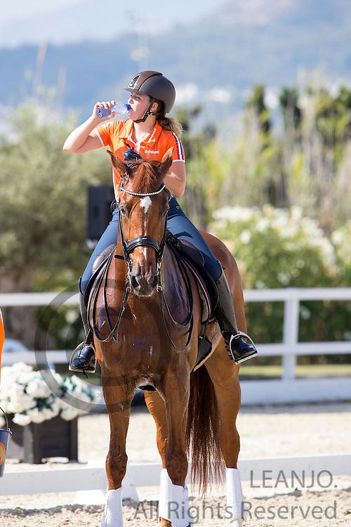 Jeanine Nieuwenhuis - TC Athene<br /> European Championships 2015<br /> &copy; DigiShots