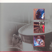 Gray Fabrication Brochure Cover. All Rights Reserved Gray Fabrication and West Port Print & Design