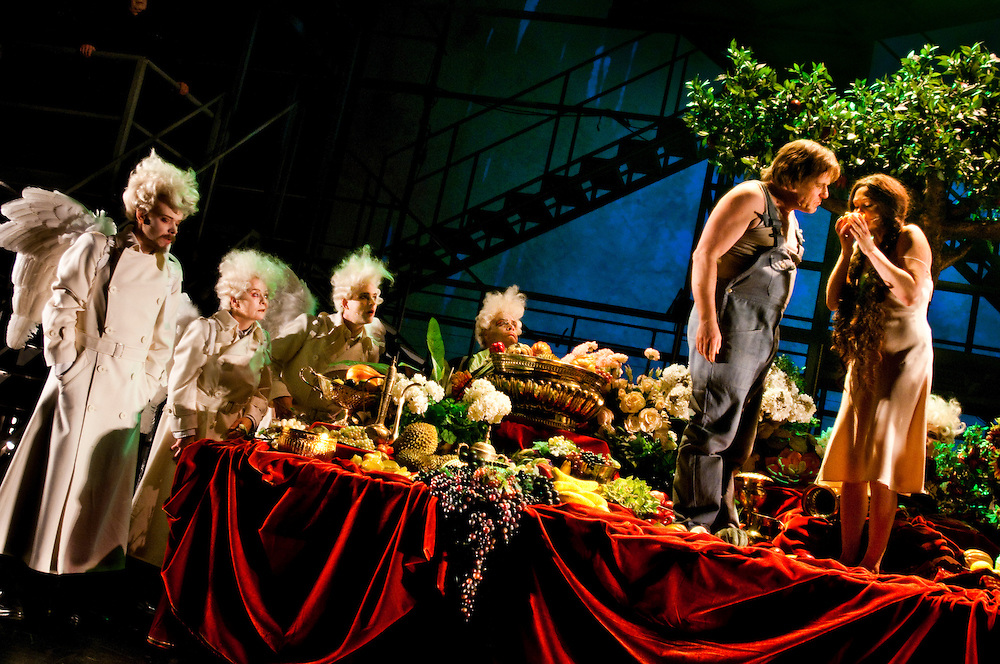 """""""The Bible"""" by Stein Winge at Det Norske Teatret"""